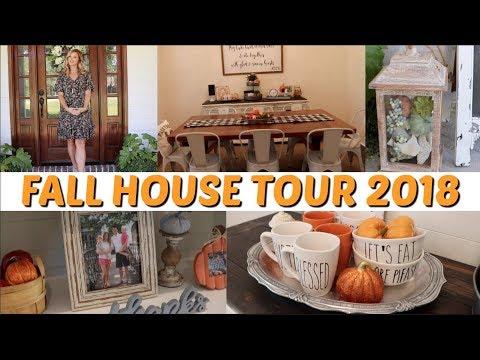 2018 FALL HOUSE TOUR // FALL DECOR // WHOLE HOME TOUR