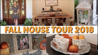 2018 FALL HOUSE TOUR // FALL DECOR // WHOLE HOME TOUR