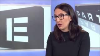 Alexandra Udženija v Partii o tom, proč je EET škodlivé