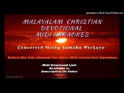 Itha ivide daivathin koodaram Midi Karaoke