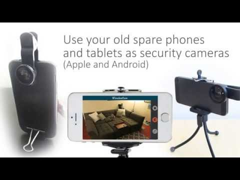WardenCam | Full feature security camera app