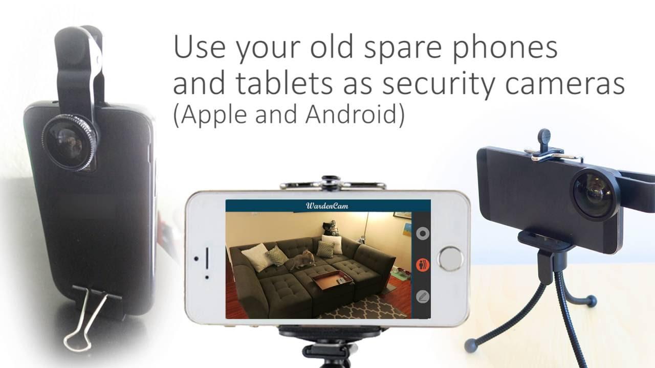 WardenCam | Full feature security camera app