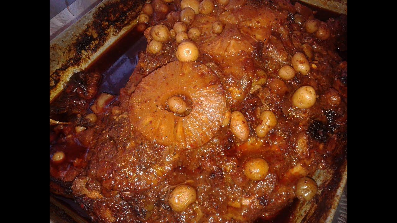 Cocinar Pierna De Puerco