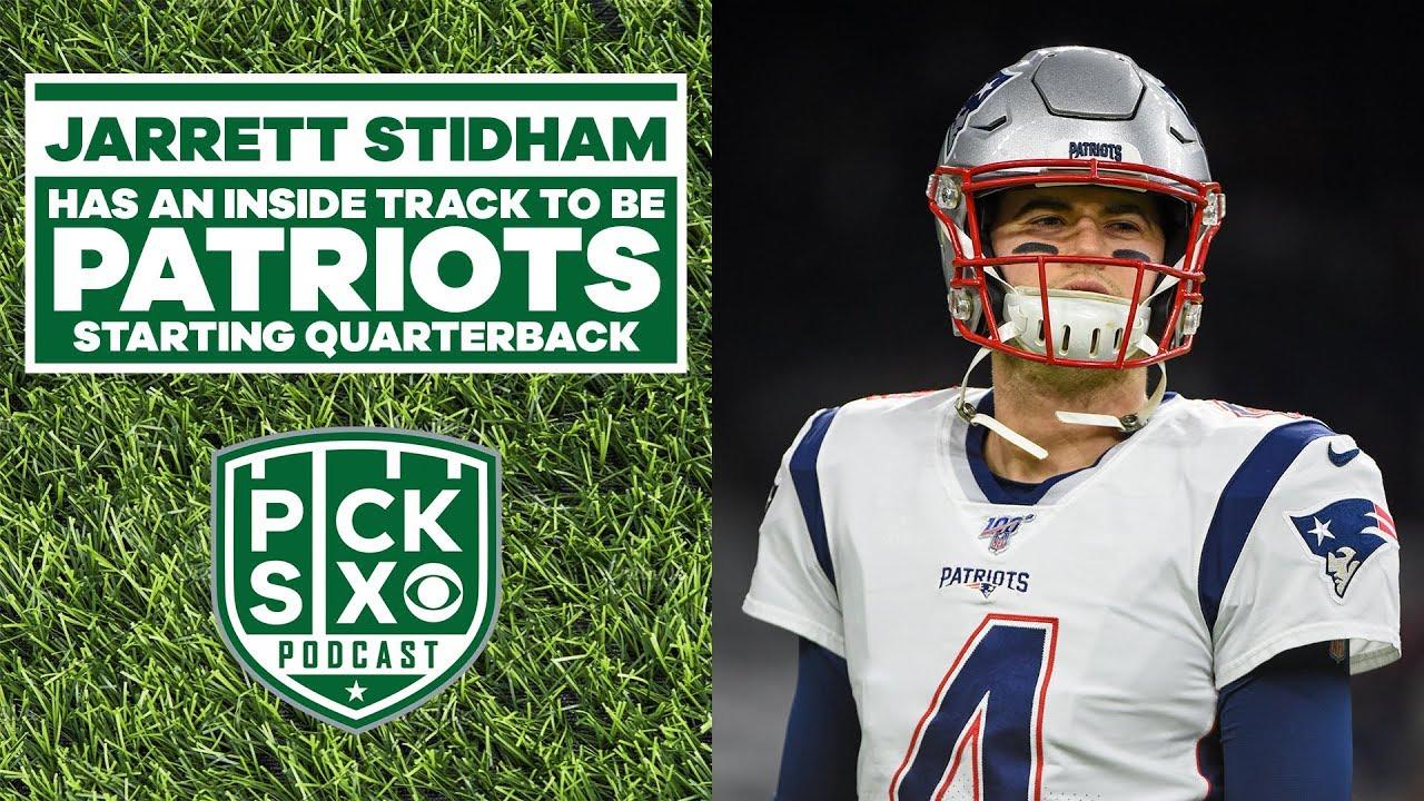 Jarrett Stidham New England Patriots Interview Youtube