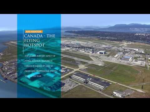 AAA Aviation Flight Academy,Langley Airport Canada