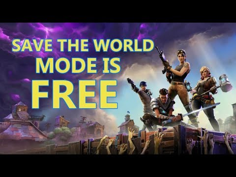 PLAY FORTNITE SAVE THE WORLD MODE FOR FREE AFTER UPDATE