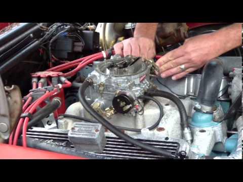 Pontiac 2 2 Engine Diagram Schematics Edelbrock Carb 1406 Youtube