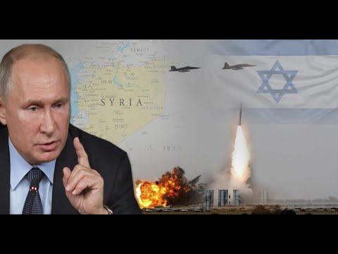 ¿POR QUE RUSIA SE AGUANTA  EN ATACAR A ISRAEL  CUANDO ESTE ARREMETE  CON TODO CONTRA SIRIA ?