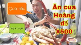 💥365-cua Hoàng đế 5kg giá 10 Triệu có quá mắc? $400 king crab
