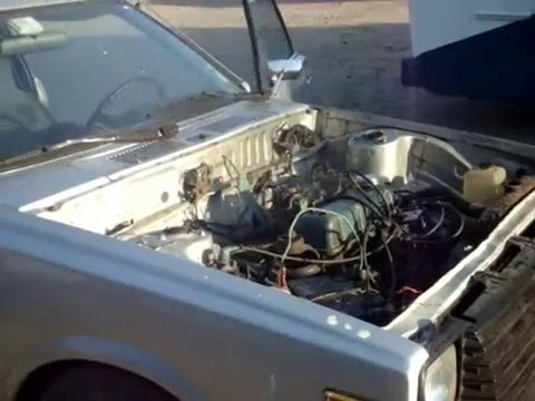 Datsun 120A Pulsar Coupe Engine Blow - YouTube