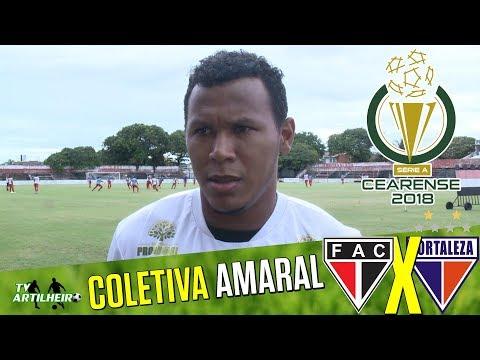 Cearense 18 Coletiva Amaral  Pré-jogo Ferroviário AC X Fortaleza EC  TV ARTILHEIRO