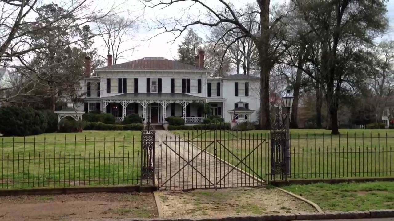 Madison georgia antebellum houses youtube for Antebellum homes