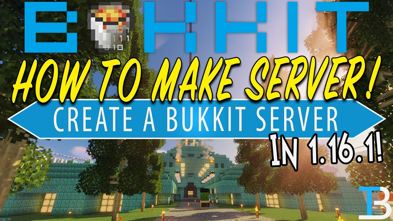 Download How To Make A Bukkit Server in Minecraft 1.16.1