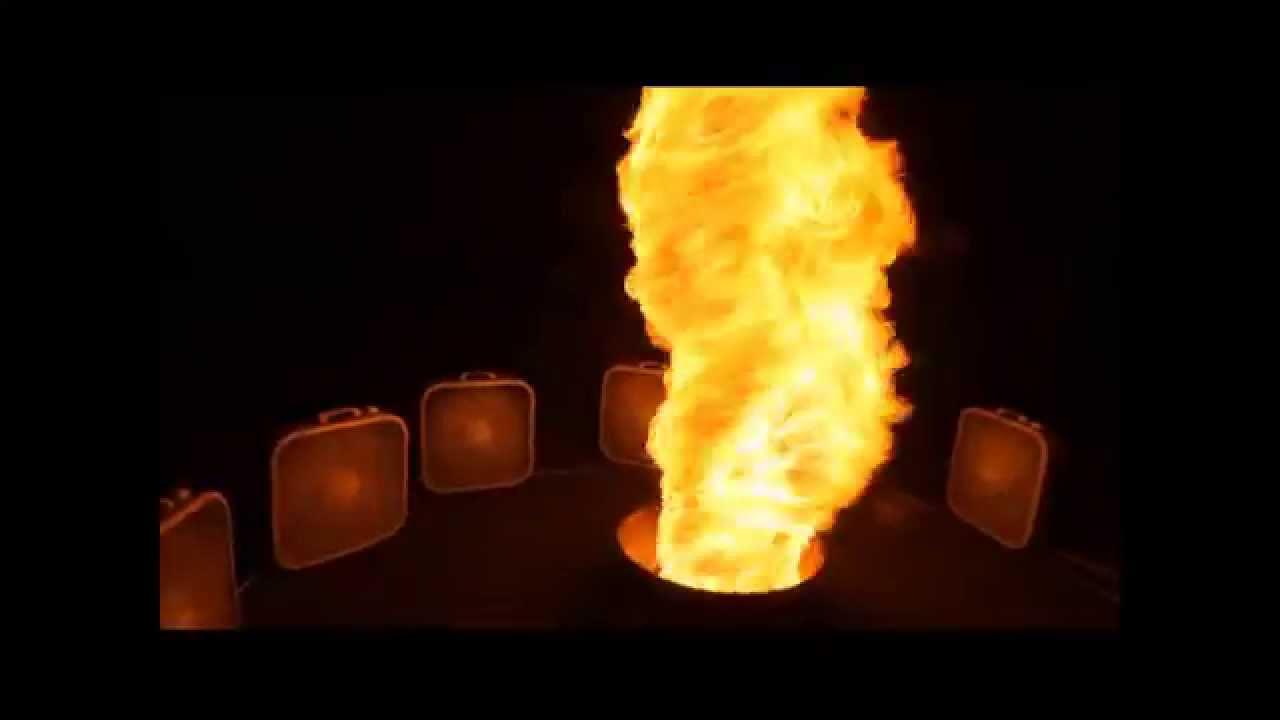 FIRE TORNADO!!!! - YouTube