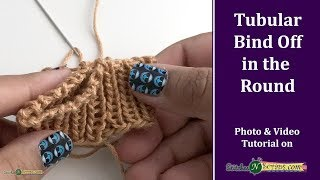 Gambar cover Tubular Bind Off in the Round (for 1/1 Ribbing)