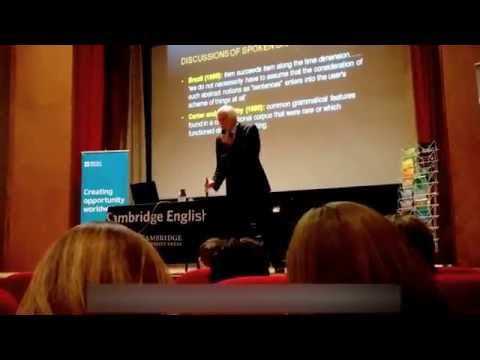 Michael McCarthy| Cambridge University| British Council Russia| Moscow| 2016