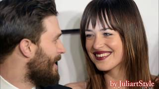 Jamie Dornan & Dakota Johnson moments