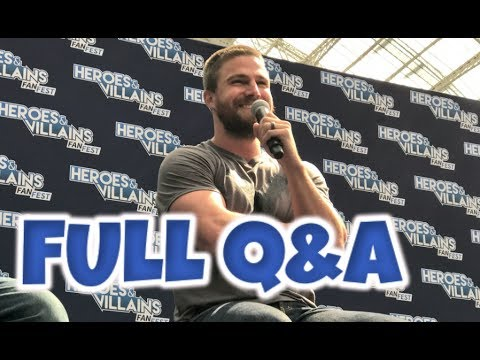 Stephen Amell Heroes And Villains Fan Fest London 2017 Full Q&A Panel