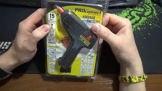 клеевой пистолет PROconnect 12-0103 обзор