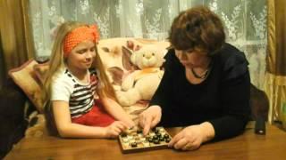 Трогательный песня о бабушке и внучке.  Маленькая, но любящая семья  г. Долинска