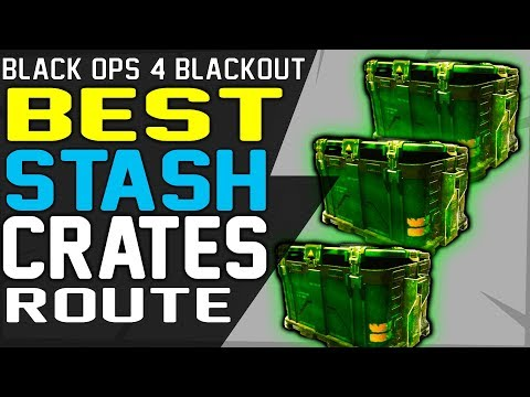 BEST BLACKOUT STASH CRATES LOCATIONS ROUTE - Best Looting Strategy to Unlock Characters Fast