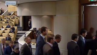 Жириновский увел свою франкцию с заседания Госдумы