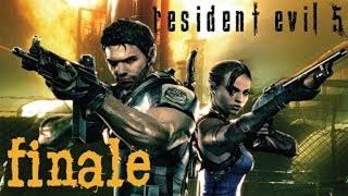 Resident Evil 5 [HD] Splitscreen Co-op Playthrough part 17 (Final Boss - Uroboros Wesker) [Final]