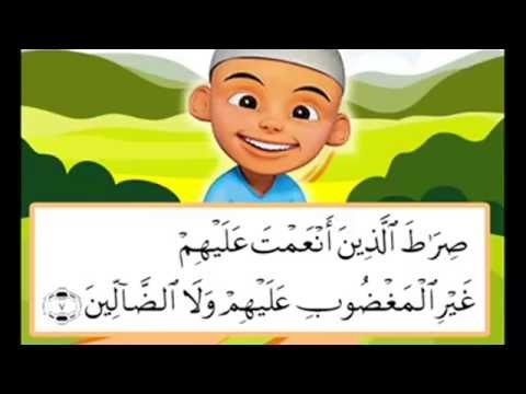 QS. Al-Fatihah, Al-Ikhlas, Al-Falaq & An-Nas - Belajar Mengaji Bersama Ipin & Upin