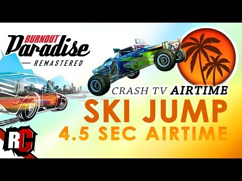 """Crash TV Air Time"" SKI JUMP 