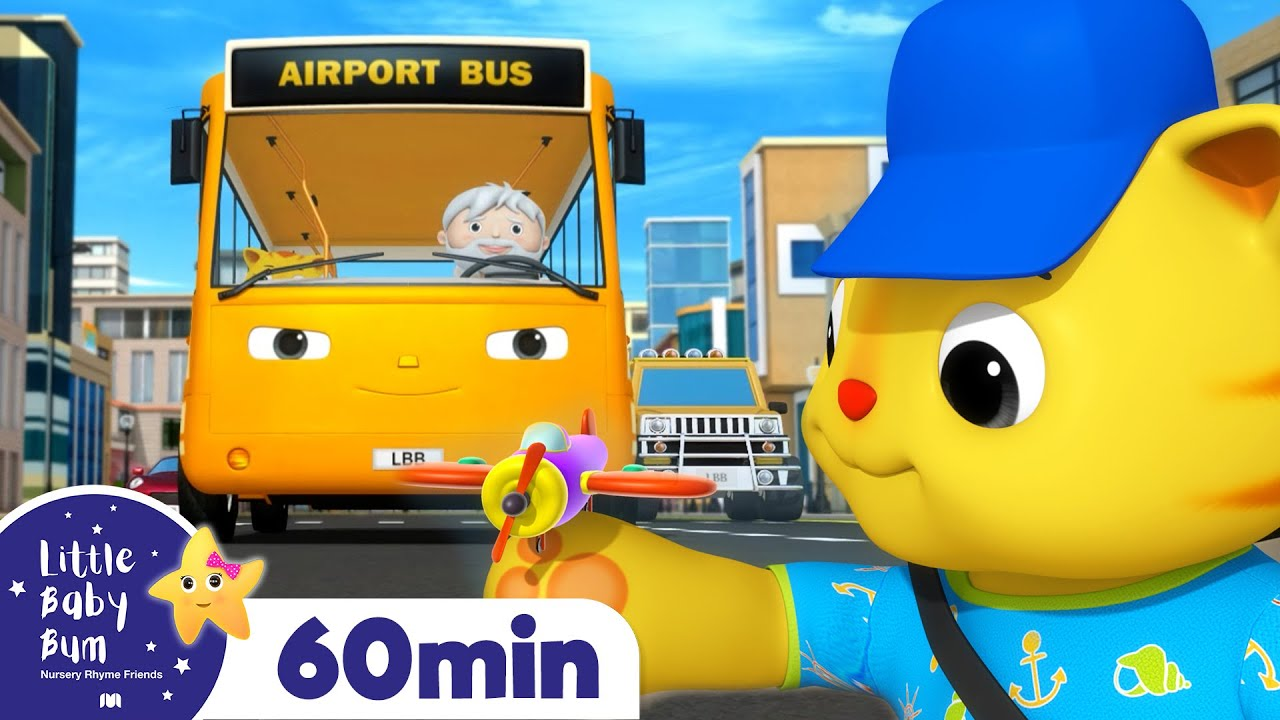 Wheels On The Bus - Summer Holiday! +More Nursery Rhymes and Kids Songs | Little Baby Bum