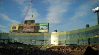 b 1 bomber flyover at lambeau field before packers giants playoff game