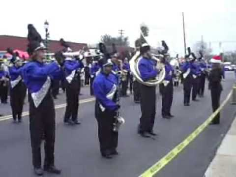 MHS Marching Band / Claremont Christmas parade