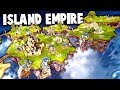 FLOATING ISLANDS Empire!  Building a Castle in the Sky! (Driftland The Magic Revival Gameplay Ep 1