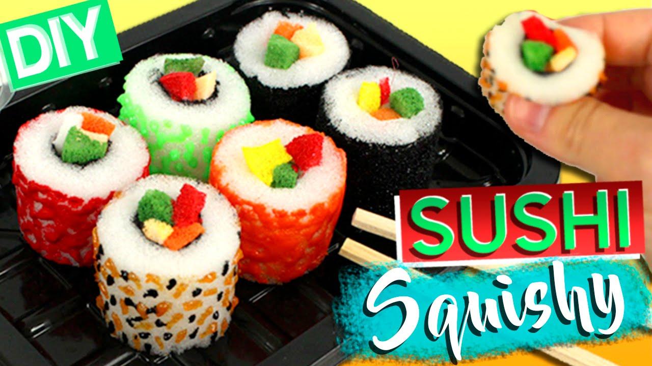 Diy squishy sushi c mo hacer squishies caseros youtube - Hacer sorbetes caseros ...