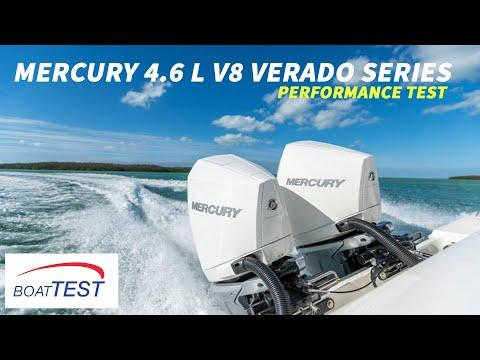 Mercury 4.6 L V8 Verado Series (2018-) Test Video - By BoatTEST.com
