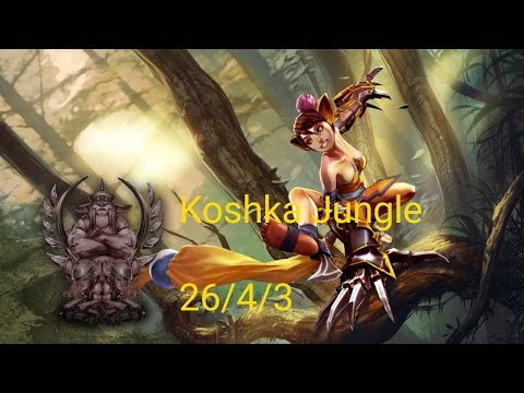 Vainglory Gameplay | Koshka Jungle | Got Swagger