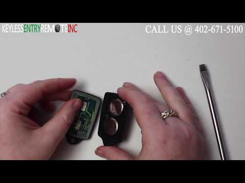 How To Replace GMC Jimmy Key Fob Battery 1993 1994