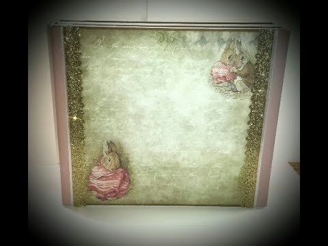 Peter Rabbit Folio Mini Album ( DT Vectoria Designs )