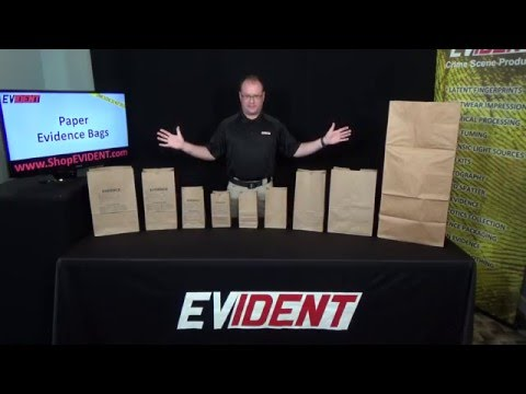 Paper Evidence Bags - EVIDENT