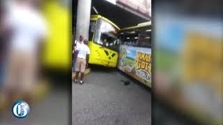 JUTC accident in Transport Centre