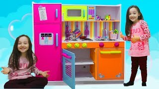 ÖYKÜNÜN YENİ OYUNCAK MUTFAĞI , Kidkraft Kids Toy Kitchen