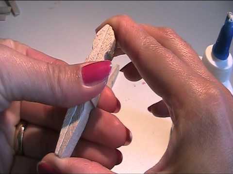 Anleitung Mit Holzwascheklammern Einen Stern Basteln Youtube