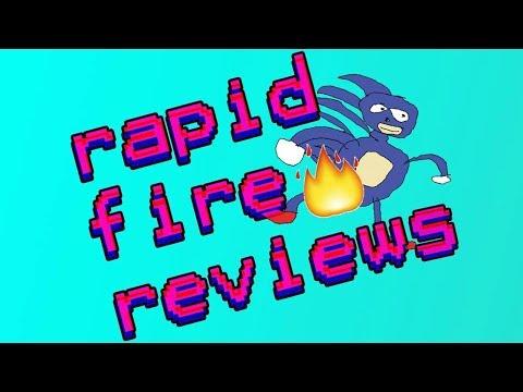 Rapid Fire Reviews, Ep. 18 (Zomboy, Steve...