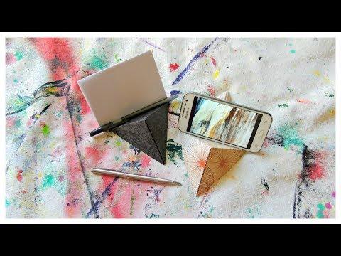Paper Crafts: DIY Phone Holder