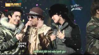 [Vietsub] Big Bang & HaHa - KBS Music Bank Special Stage - In my Destiny + Last Farewell 080125