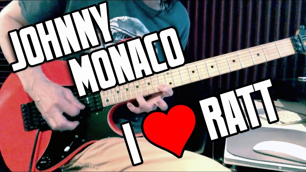 Ratt : Guitar Solo Compilation : Johnny Monaco