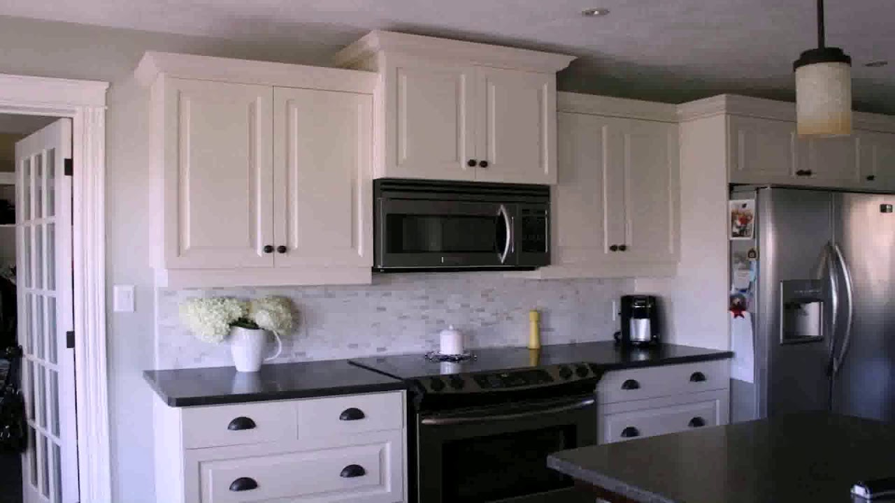 Kitchen Ideas With White Cabinets And Black Appliances Youtube