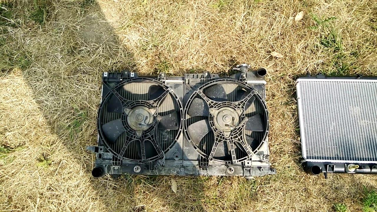 2001 subaru forester radiator replacement