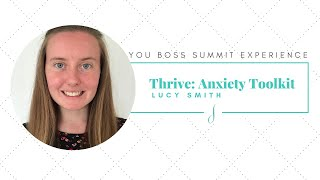 Anxiety Toolkit with Lucy Smith