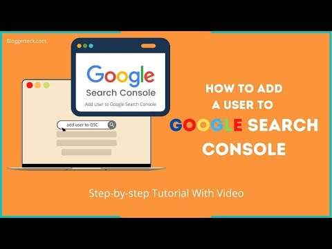 How to add new user to Google Search Console